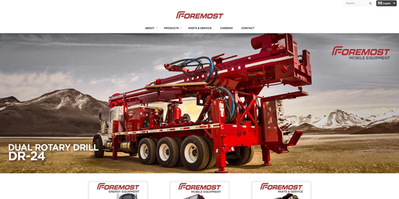 website design foremost small