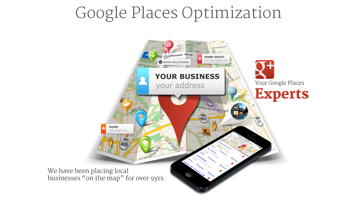 Google Places Optimization in Calgary