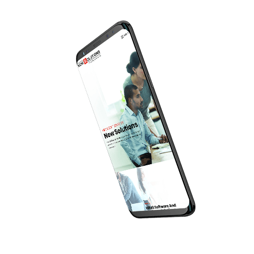 mobile view webdesign for nowsolutions