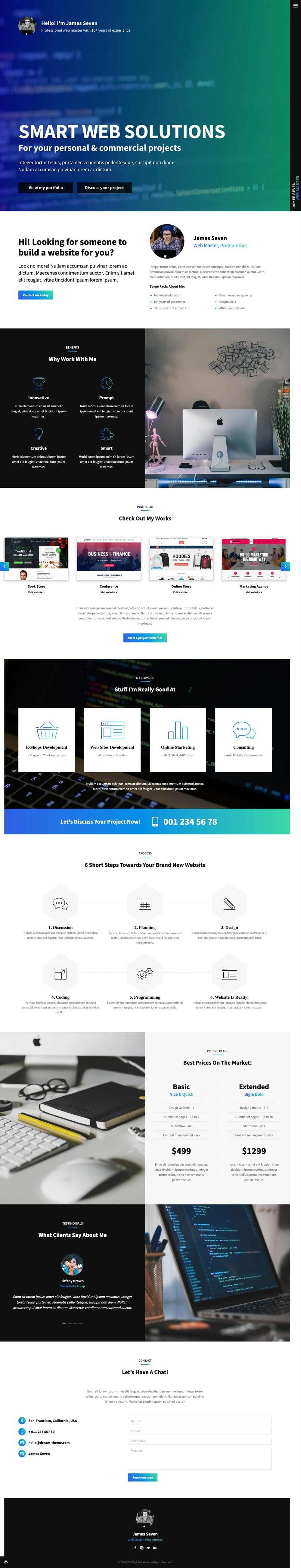 onepage-personal-template-sample-design