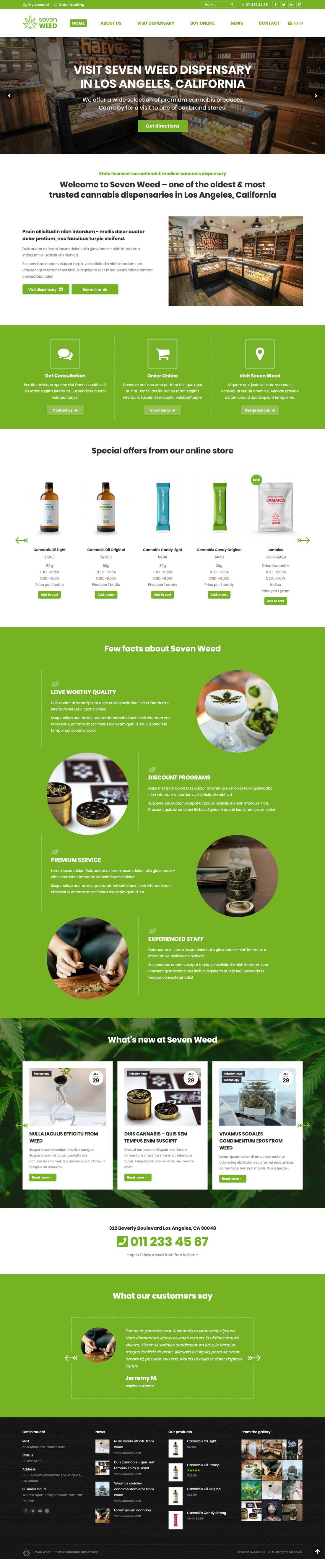 ecommerce affordable web design sample