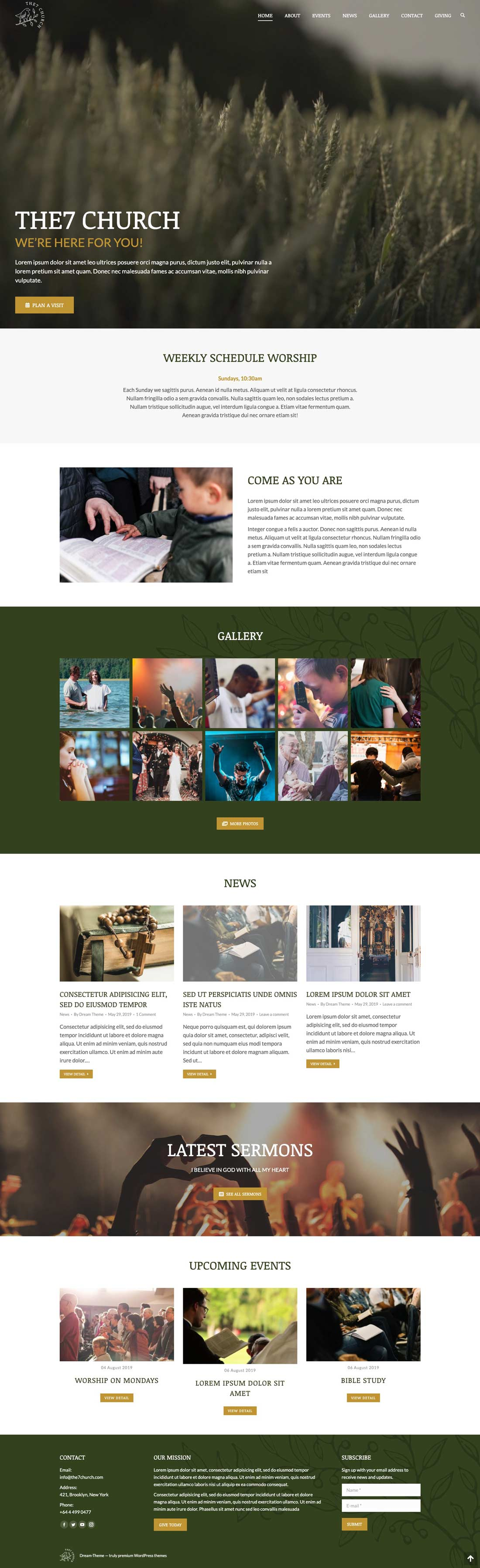 sample small business web design