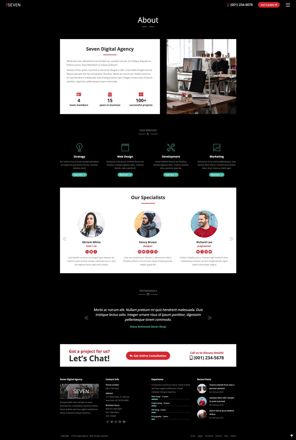 mockup design for small business